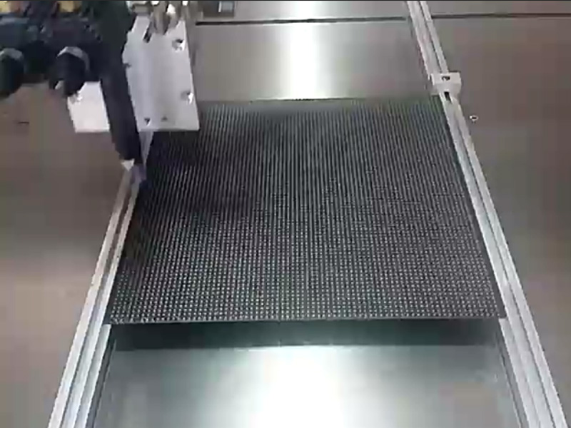 LED显示屏自动灌胶机视频