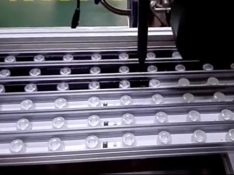 洗墙灯灌胶机视频